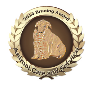 2014 Bruning Award for Outstanding Service and Care of Animals